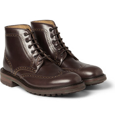 Paul Smith Shoes & Accessories Leather Lace-Up Brogue Boots