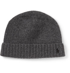 Polo Ralph Lauren Cashmere and Wool-Blend Beanie Hat