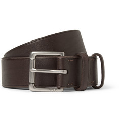 Polo Ralph Lauren Dark Brown 3cm Leather Belt