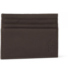 Polo Ralph Lauren Grained-Leather Cardholder
