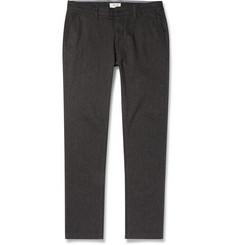 NN.07 Marco Herringbone Cotton-Blend Trousers