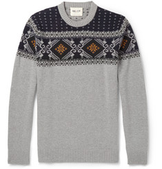 NN.07 Fair Isle Wool Sweater