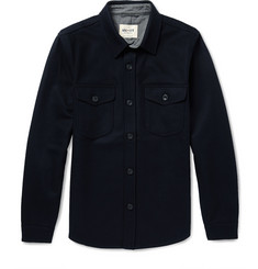NN.07 Erik Boiled-Wool Overshirt