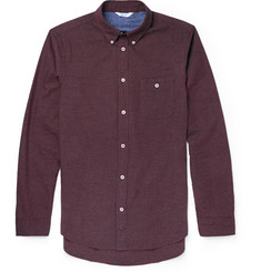 NN.07 Derek Brushed-Cotton Shirt