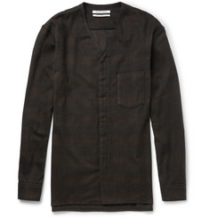 Public School Check Cotton-Flannel Shirt