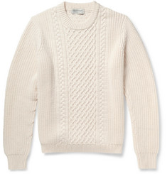Tomorrowland Cable-Knit Wool Sweater