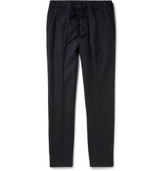 Tomorrowland Drawstring-Waist Wool and Cashmere-Blend Trousers