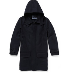 Ovadia & Sons Hooded Wool-Blend Coat