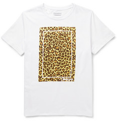 Ovadia & Sons Leopard-Print Cotton-Jersey T-shirt