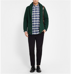 Ovadia & Sons Ribbed-Knit Wool Cardigan