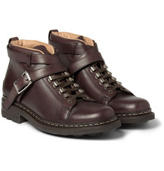 Heschung Leather Buckle-Strap Boots