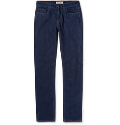 Loro Piana Cotton and Cashmere-Lined Denim Jeans