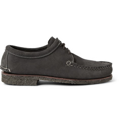 Quoddy Tukabuk Crepe-Sole Suede Derby Shoes