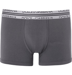 Dolce & Gabbana Cotton-Blend Jersey Boxer Briefs