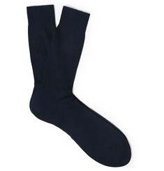 Pantherella Knightsbridge Ribbed Cashmere Socks