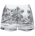 Orlebar Brown - Bulldog Mid-Length Palm-Print Swim Shorts