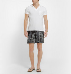 Orlebar Brown Tommy Penton Embroidered Swim Shorts