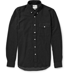 Saturdays Surf NYC Button-Down Collar Polka-Dot Cotton Shirt