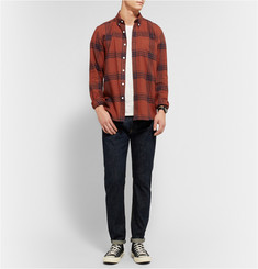 Saturdays Surf NYC Crosby Windowpane-Check Cotton-Flannel Shirt