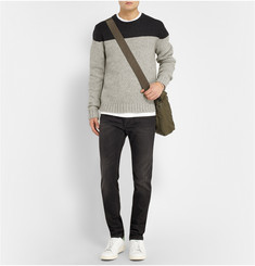 Saturdays Surf NYC Colour-Block Wool Sweater