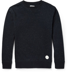 Saturdays Surf NYC Fleece-Back Cotton-Jersey Sweater