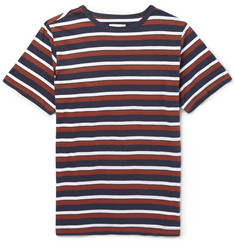 Saturdays Surf NYC Striped Cotton-Jersey T-Shirt