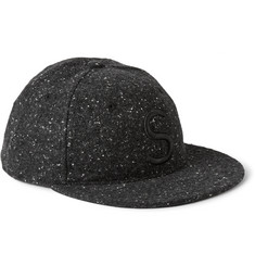 Saturdays Surf NYC Embroidered Bouclé Baseball Cap