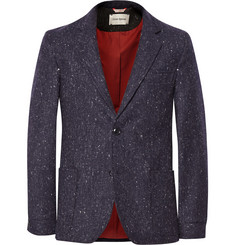 Oliver Spencer Unstructured Wool-Tweed Blazer