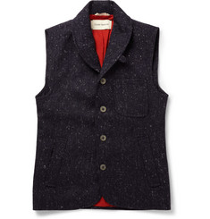 Oliver Spencer Wool-Tweed Gilet