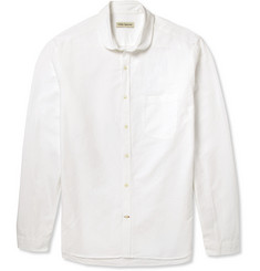 Oliver Spencer Slim-Fit Penny-Collar Cotton Oxford Shirt