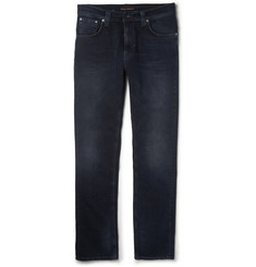 Nudie Jeans Thin Finn Slim-Fit Washed Organic Denim Jeans