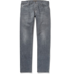 Nudie Jeans Thin Finn Slim-Fit Washed-Denim Jeans