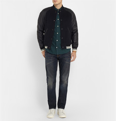 Nudie Jeans Steady Eddie Regular-Fit Washed Organic Jeans