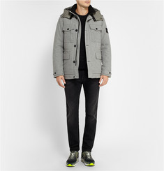 Stone Island Wool-Blend Ice Jacket