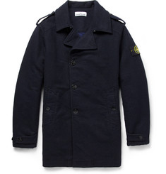 Stone Island Double-Faced Padded Peacoat