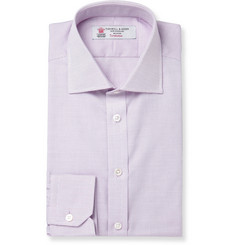 Turnbull & Asser Pink Woven-Cotton Shirt