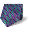 Turnbull & Asser - Woven Stripe Silk-Satin Tie