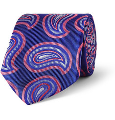 Turnbull & Asser Patterned Silk Tie