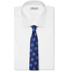 Turnbull & Asser Embroidered Silk Tie