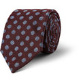 Turnbull & Asser - Spotted Cashmere, Wool and Silk-Blend Tie