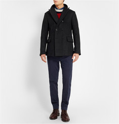 Billy Reid Wool-Blend Peacoat