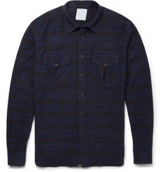 Billy Reid Striped Woven-Cotton Shirt