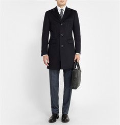Thom Sweeney Wool and Cashmere-Blend Overcoat