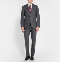 Thom Sweeney Grey Wool-Flannel Suit
