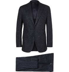Thom Sweeney Slub Wool Three-Piece Suit