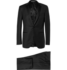 Canali Black Slim-Fit Super 130s Wool Tuxedo