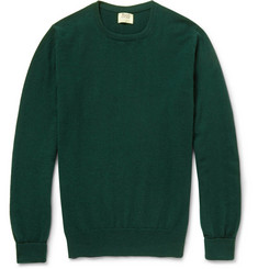 William Lockie Oxton Cashmere Crew Neck Sweater