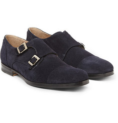 Mr. Hare Suede Double Monk-Strap Shoes