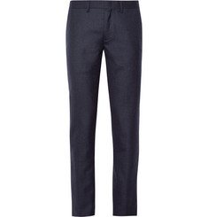 J.Crew Bowery Slim-Fit Wool-Flannel Trousers