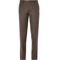J.Crew Brown Ludlow Slim-Fit Wool Suit Trousers